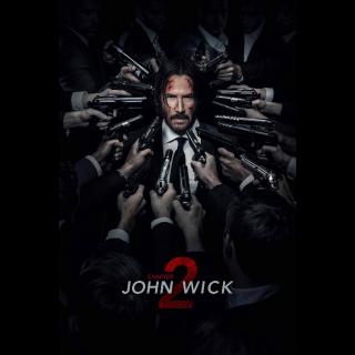 John Wick: Chapter 2 / 4K UHD / movieredeem.com