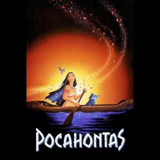 Pocahontas / HDX / Movies Anywhere / iTunes / VUDU