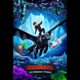 How to Train Your Dragon: The Hidden World / MA / 4K UHD