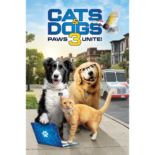 Cats & Dogs 3: Paws Unite / HD / MoviesAnywhere