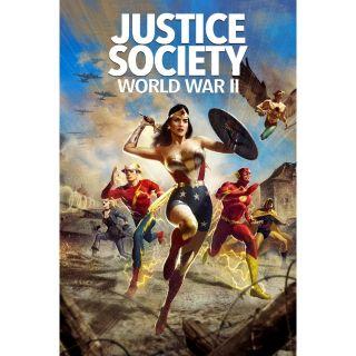 Justice Society: World War II / 4K UHD / Movies Anywhere