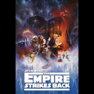 The Empire Strikes Back / 4K UHD / Movies Anywhere / VUDU