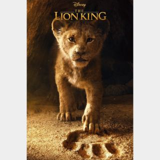 The Lion King (2019) / 4K UHD / Movies Anywhere / VUDU