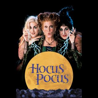 Hocus Pocus / HDX / Movies Anywhere / iTunes / VUDU
