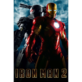 Iron Man 2 -- UHD 4K on MA - Code Not Split - DMR Points NOT Included