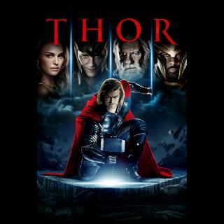 Thor / 4K UHD / Movies Anywhere / VUDU