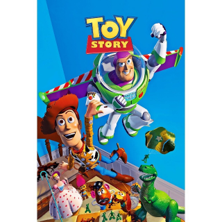 Toy Story -- 4K UHD on MA - Code Not Split - DMR Points NOT Included