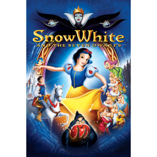 Snow White and the Seven Dwarfs - HDX on MA - Code Not Split - DMR Points NOT Included