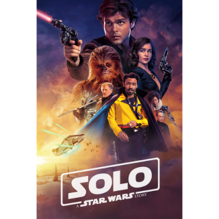 Solo: A Star Wars Story/ MA / 4K UHD / No DMR points