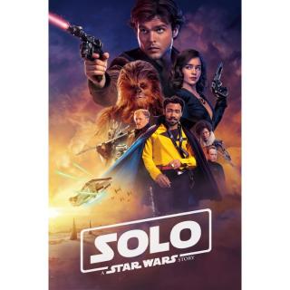 Solo: A Star Wars Story / 4K UHD / MoviesAnywhere / Vudu