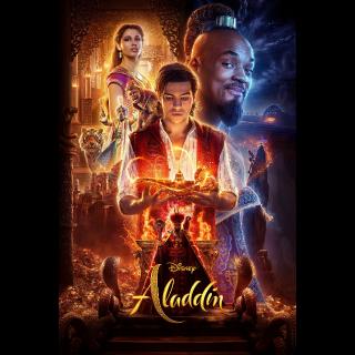 Aladdin / 4K UHD / Movies Anywhere / VUDU