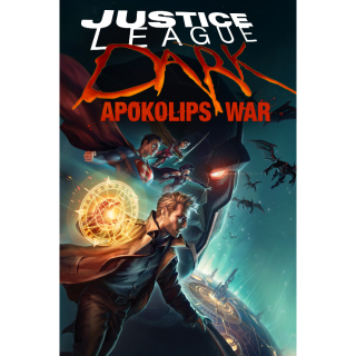 Justice League Dark: Apokolips War / 4K UHD / MoviesAnywhere or Vudu with WB.com/redeemmovie