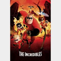 The Incredibles / HD / Movies Anywhere / iTunes / VUDU