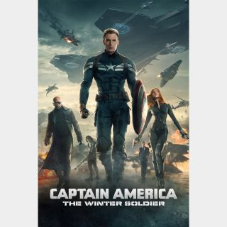 Captain America: The Winter Soldier / HD / Movies Anywhere