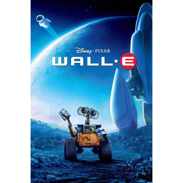 WALL-E / 4K UHD / Movies Anywhere / iTunes / VUDU