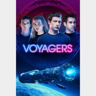 Voyagers / 4K UHD / Vudu / iTunes / Fandango all via movieredeem.com