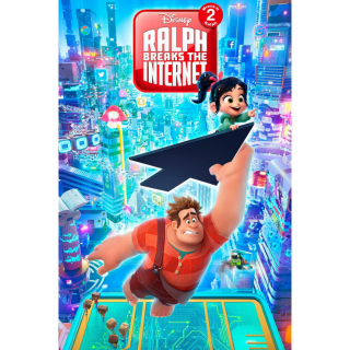 Ralph Breaks the Internet / MA / HDX / NO DMR