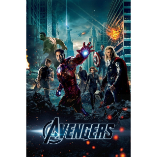The Avengers -- UHD 4K / MA - Code Not Split - DMR Points NOT Included