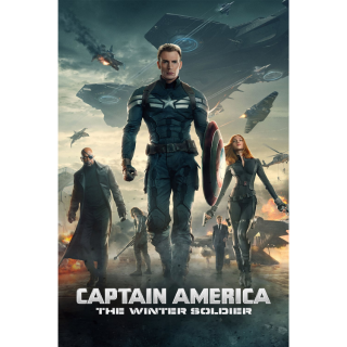 Captain America: The Winter Soldier / 4K UHD / Movies Anywhere / VUDU