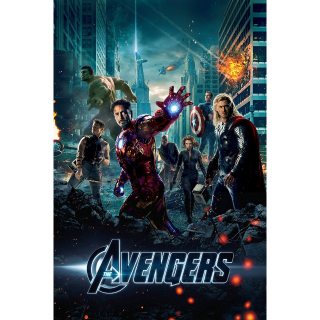 The Avengers -- HDX on MA - Code Not Split - DMR Points NOT Included