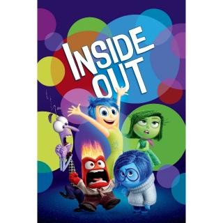 Inside Out / MA / 4K UHD / No DMR