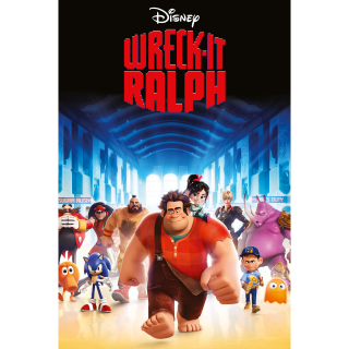 Wreck-It Ralph / UHD 4K / MA / Do DMR