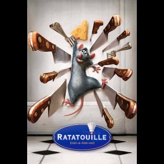 Ratatouille - 4K UHD / MA / No DMR  / Code is not split