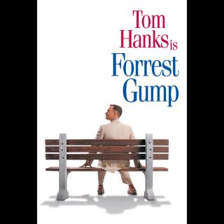 Forrest Gump / 4K UHD / VUDU / iTunes / Fandango