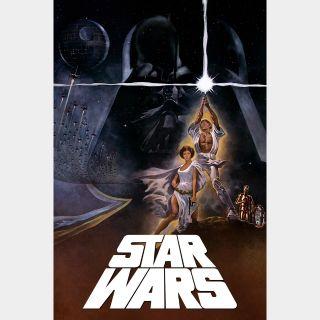 Star Wars: A New Hope / 4K UHD / Movies Anywhere / VUDU
