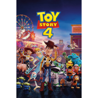 Toy Story 4 / 4K UHD / Movies Anywhere / VUDU  -  GM5
