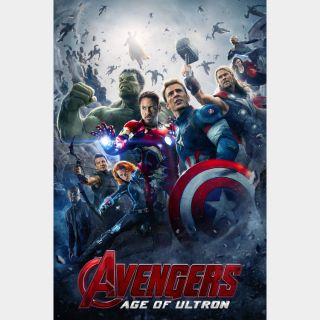 Avengers: Age of Ultron / HD / Movies Anywhere