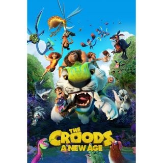 The Croods: A New Age AND The Croods - 2-Film Collection / HD / Movies Anywhere