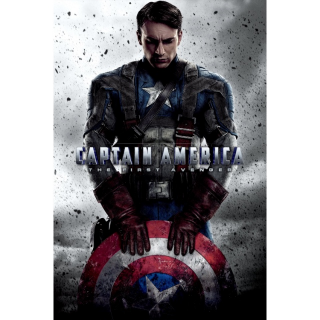 Captain America: The First Avenger / MA / HDX / NO DMR Points
