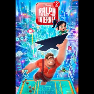 Ralph Breaks the Internet / MA / UHD 4K / NO DMR