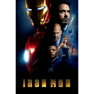 Iron Man / 4K UHD / Movies Anywhere / VUDU