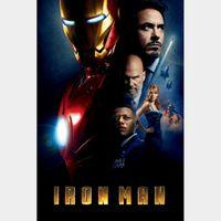 Iron Man / 4K UHD / Movies Anywhere / VUDU