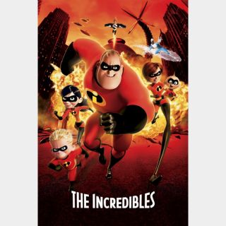 The Incredibles / GooglePlay / HD