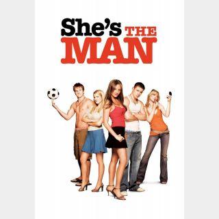 She's the Man / HD / Vudu / iTunes / FandangoNOW all via paramountdigitalcopy.com