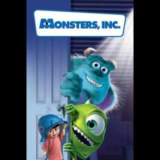 Monsters, Inc. / 4K UHD / Movies Anywhere / VUDU