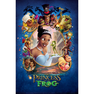 The Princess and the Frog / HD / Movies Anywhere / iTunes / VUDU