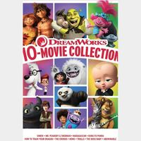 DreamWorks Animation 10-Film Collection / HD / Movies Anywhere