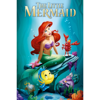 The Little Mermaid - / MA/ HDX / No DMR Points included