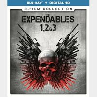 The Expendables 1, 2, and 3 Collection / HDX / Vudu via movieredeem.com