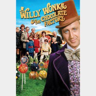 Willy Wonka & the Chocolate Factory / 4K UHD / Movies Anywhere