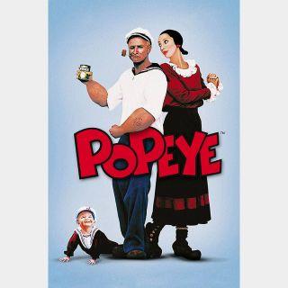 Popeye / HD / Vudu / iTunes / Fandango