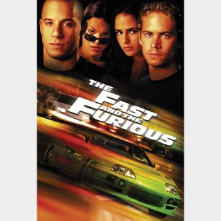 The Fast and the Furious / 4K UHD / Movies Anywhere