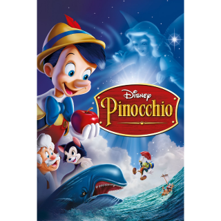 Pinocchio / HDX / Movies Anywhere / iTunes / VUDU