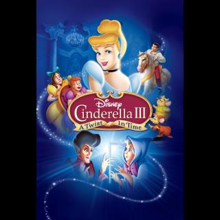 Cinderella III: A Twist in Time / HDX / Movies Anywhere / iTunes / VUDU