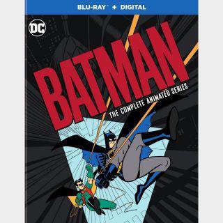 Batman: The Complete Animated Series / HD / VUDU via wb.com/redeemdigital