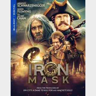 Iron Mask (Chan & Schwarzenegger) / HD / Vudu / iTunes / GooglePlay / Fandango / movieredeem.com